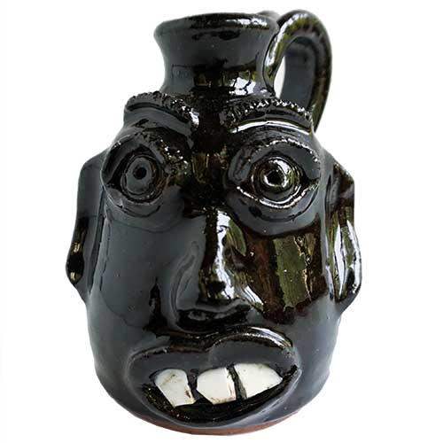 "Stanley & Mary Ferguson Ugly Face Jug 5"" DP1681"
