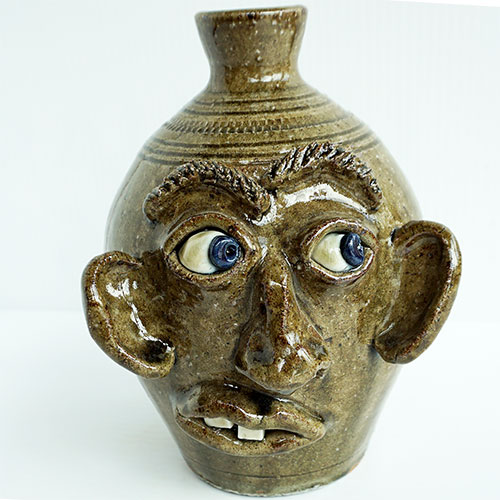"Stephen Harrison 7"" Face Jug DP1618"