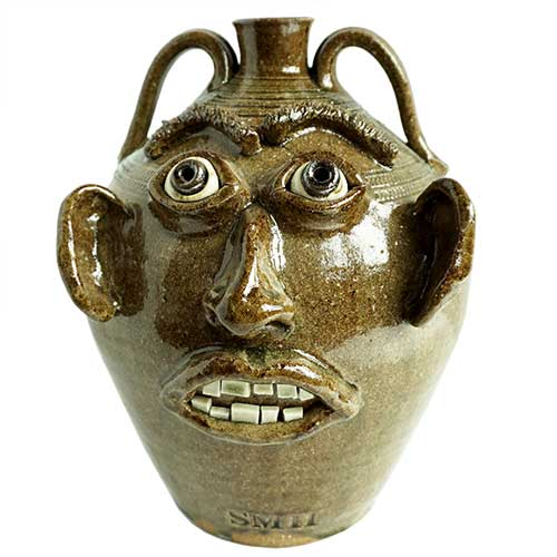 "Stephen Harrison 13"" Face Jug DP1673 SOLD"