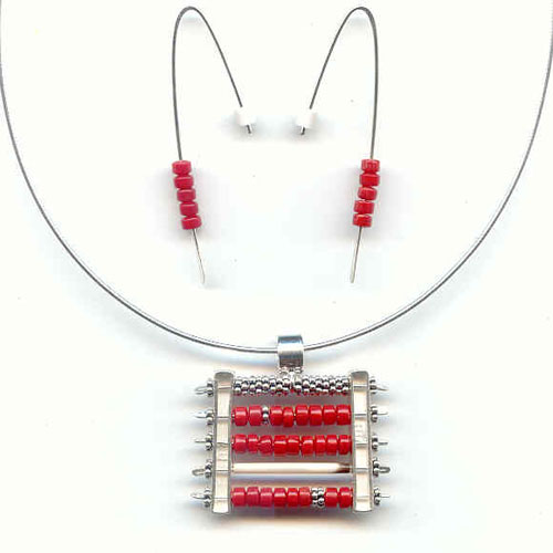 Sturgis Abacus Necklace JN525