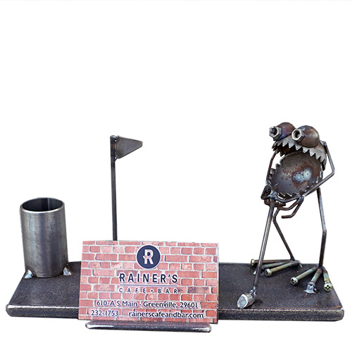 Sugar Desk Business Card Holder Golfer RD876