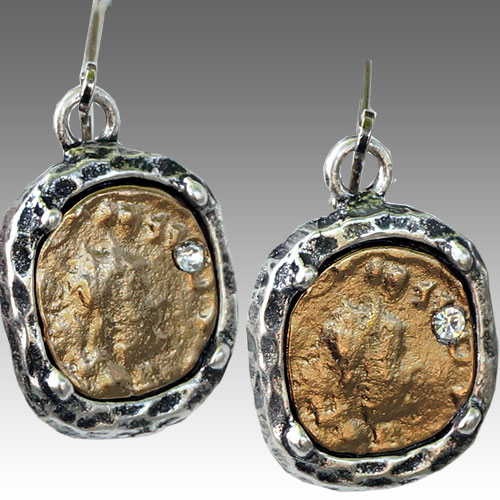 Tat2 Pavia Coin & Frame Earrings JE2583