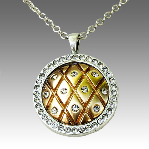 Tat2 Domed Pendant Necklace JN1646