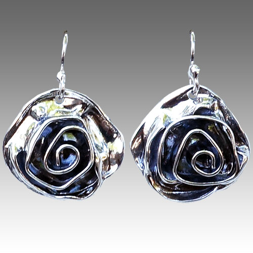 Tinsman Rose Earrings JE1012