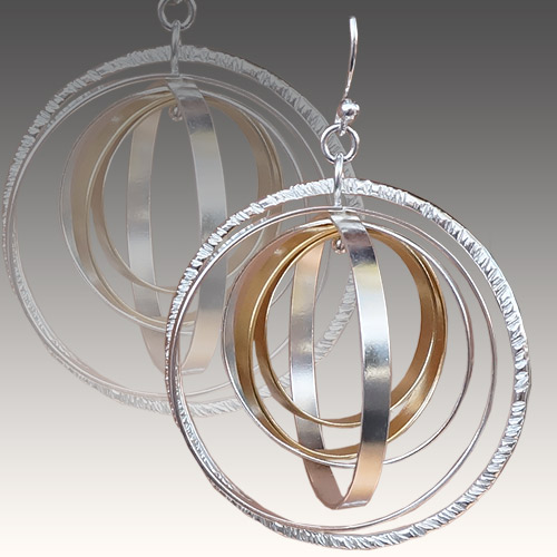 Torello ERs Orbital Helix Hoops Mixed JE3024 SOLD