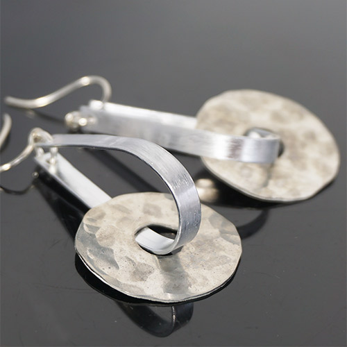 Webster Handforged Pewter ERs Circles JE3760