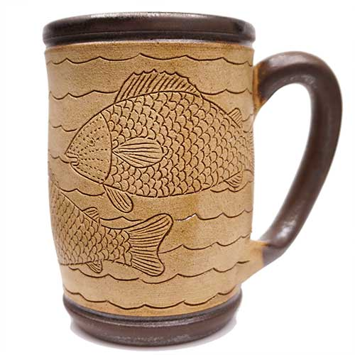 Eugene Etched Mug Fish DP2073