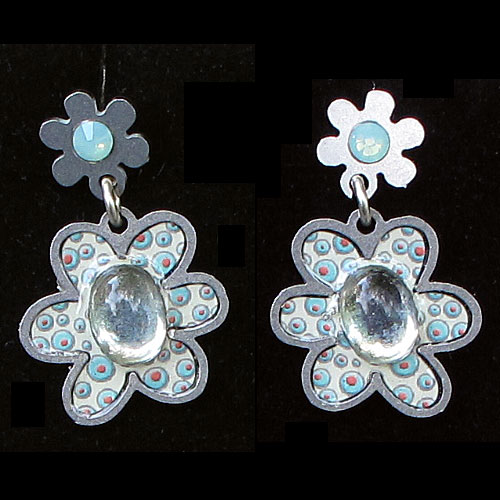 Yooli Earring Flower Posts JE1937