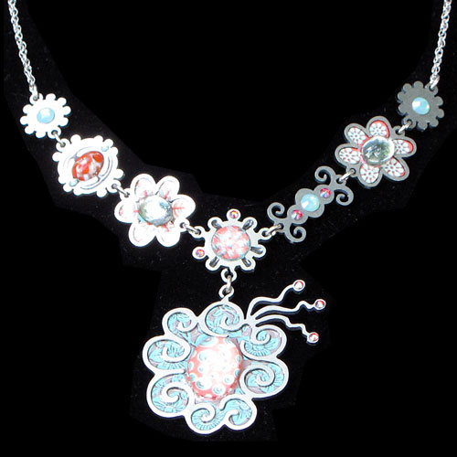 Yooli Flower Garden Necklace JN1209