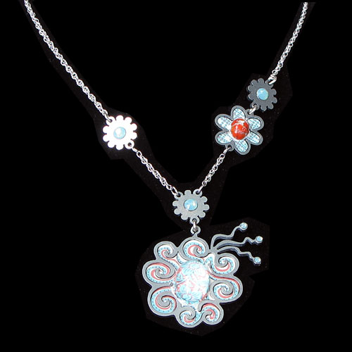 Yooli Flower Necklace JN1211