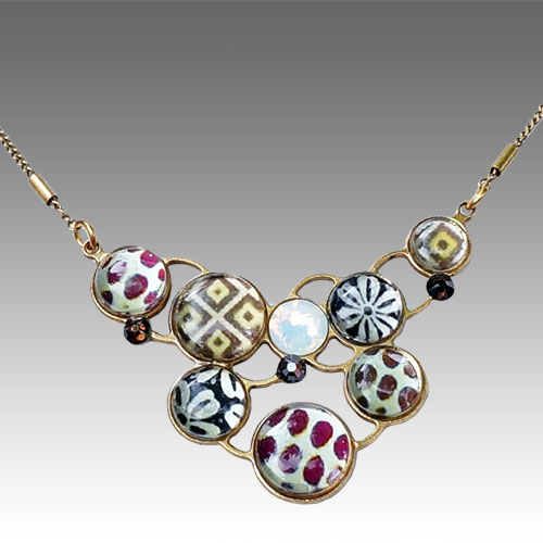 Yooli Necklace Graphics JN1663